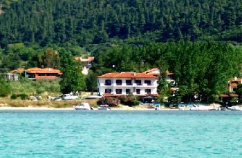 Hotel, Pension in Sithonia, Griechenland