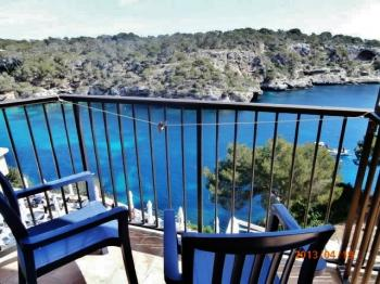 Hotel, Pension in Cala Figuera, Spanien